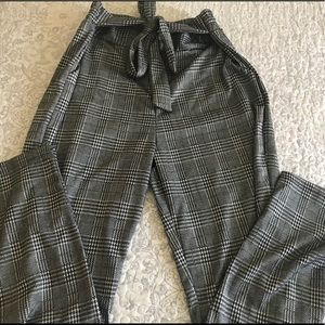 Tartan pattern Pants